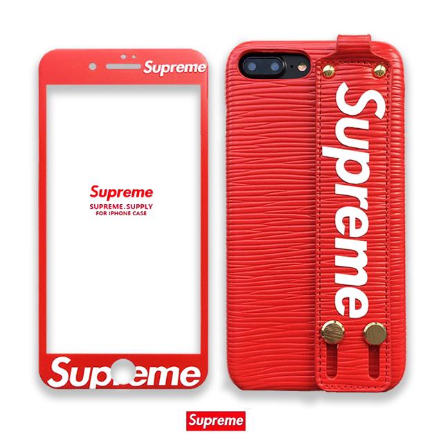 Supreme iphone8/x/xs max/xr ケース 赤 エピ