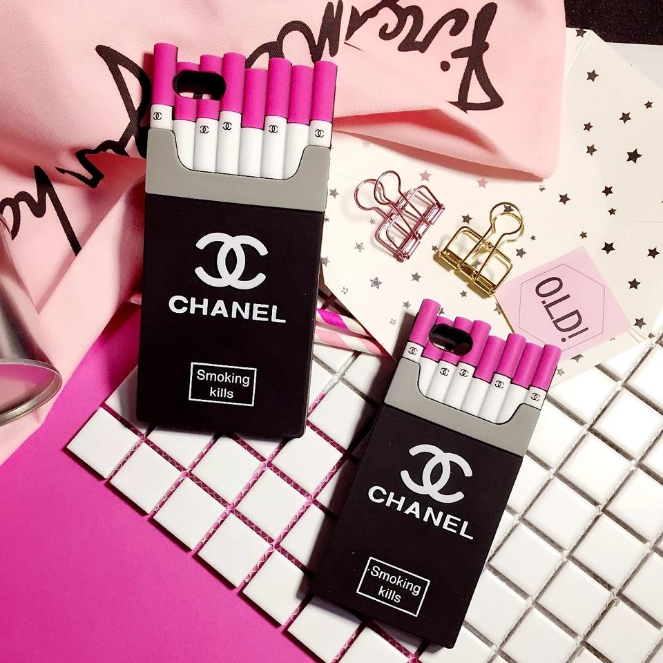 シャネル iPhonexs max ケース タバコ ピンク