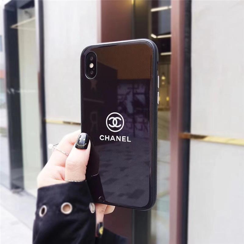シャネル iphone xs/xsmax/xr ケース ココマーク 黒い