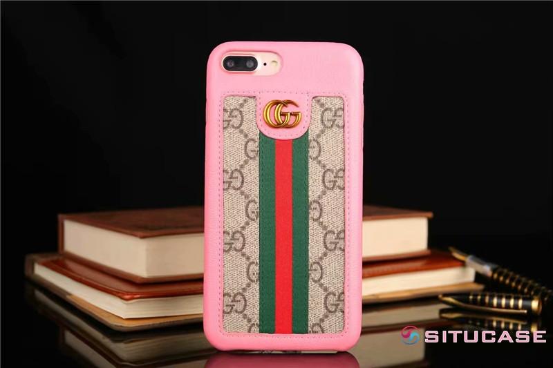 ゴージャス iPhone8 plus ケース 人気女子 大人可愛い Gucci