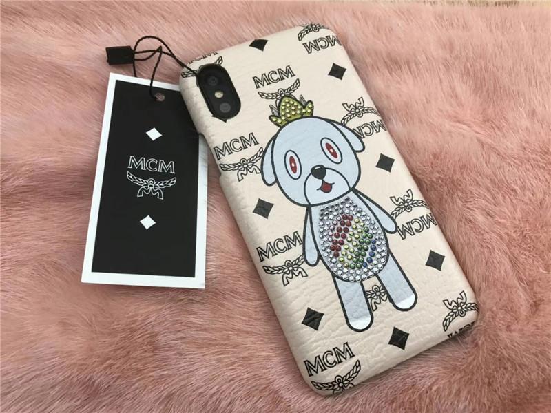 エディカンラブレスプラスケース iPhoneX/7/8プラスケース 犬モチーフ