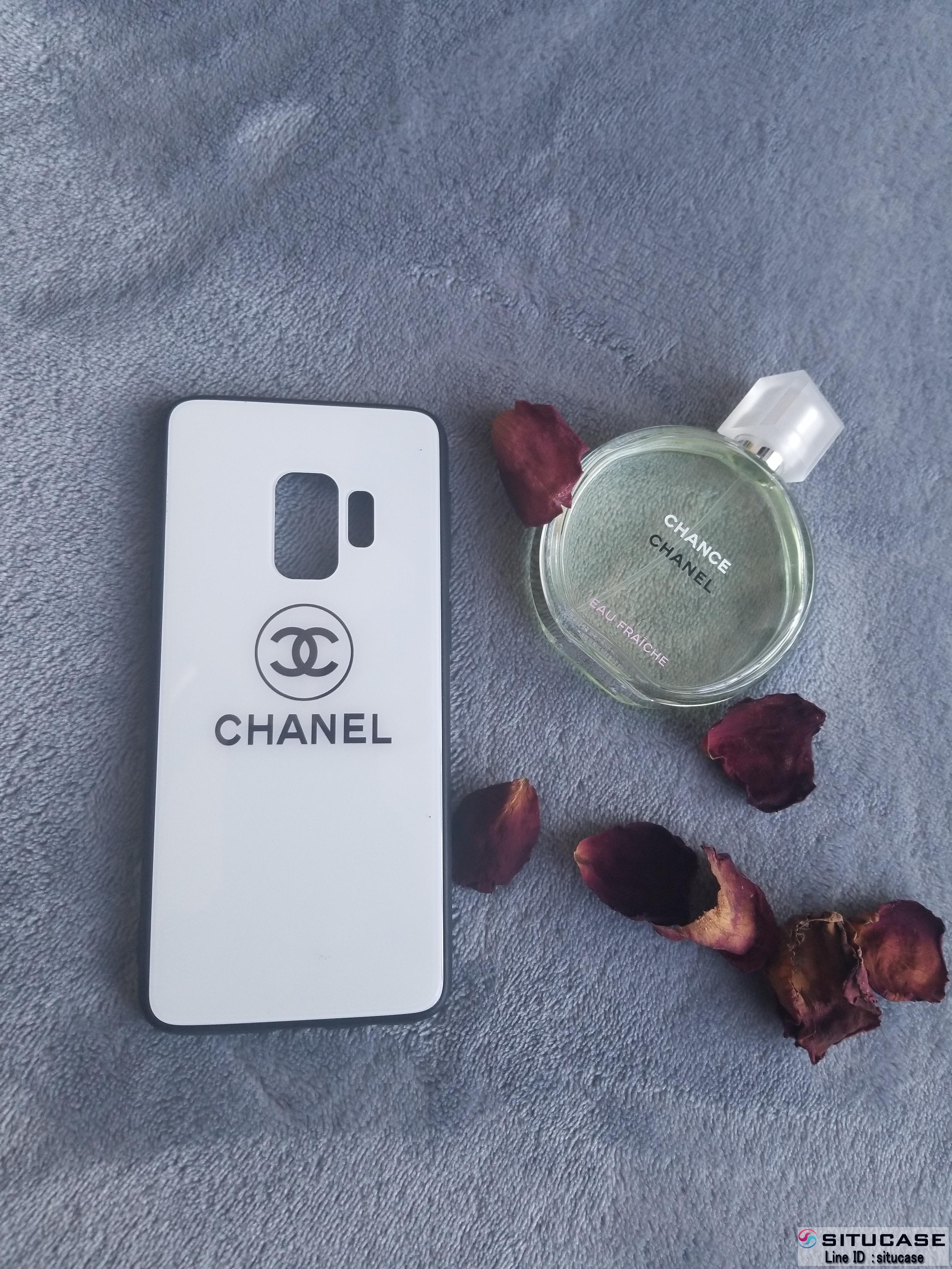 シャネル シンプル ギャラクシーs9/s9プラスケース 強化ガラス