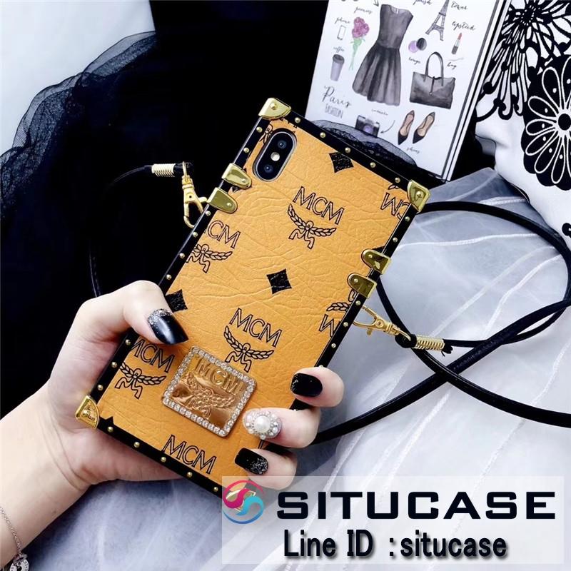 アイトランク風iphonex ケース mcm