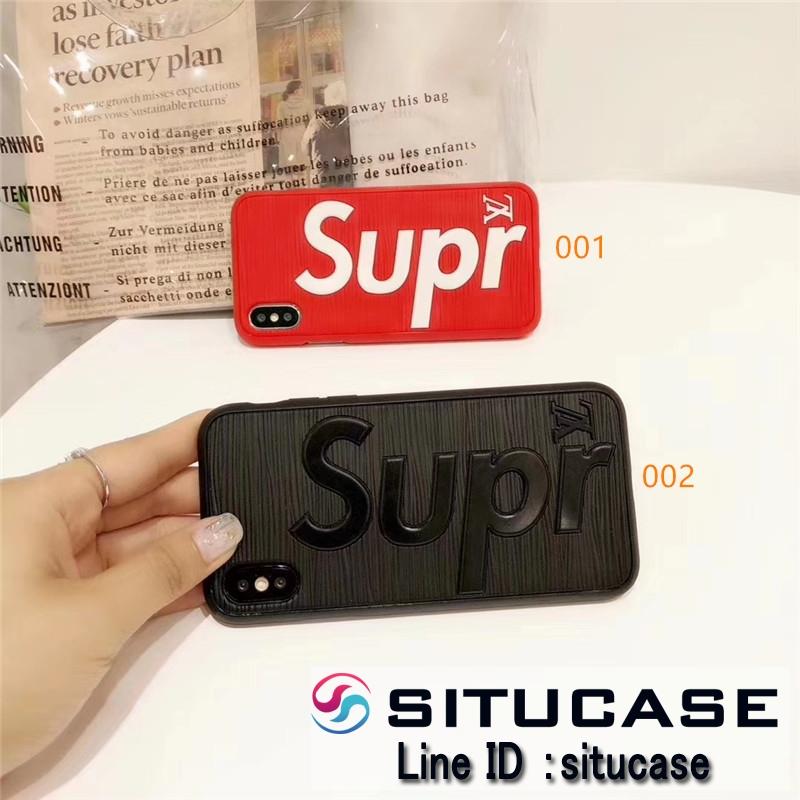 lv supreme エピ iphonexs x ケース シリコン