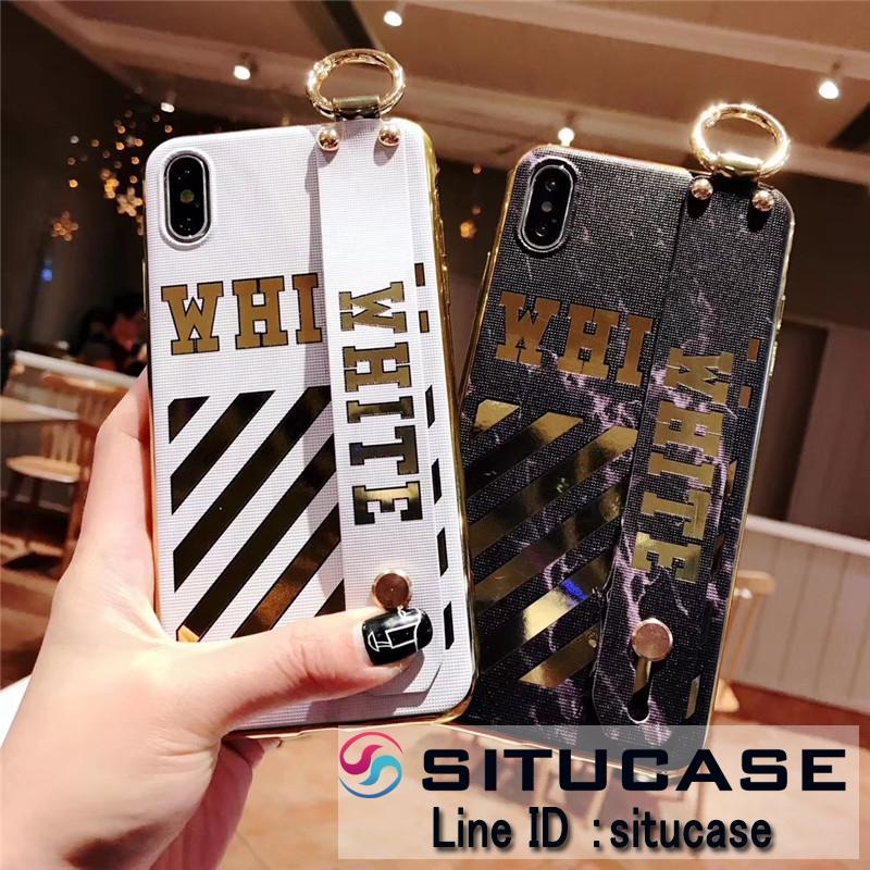 オフホワイト iPhonexs/xs max サイドカラーケース
