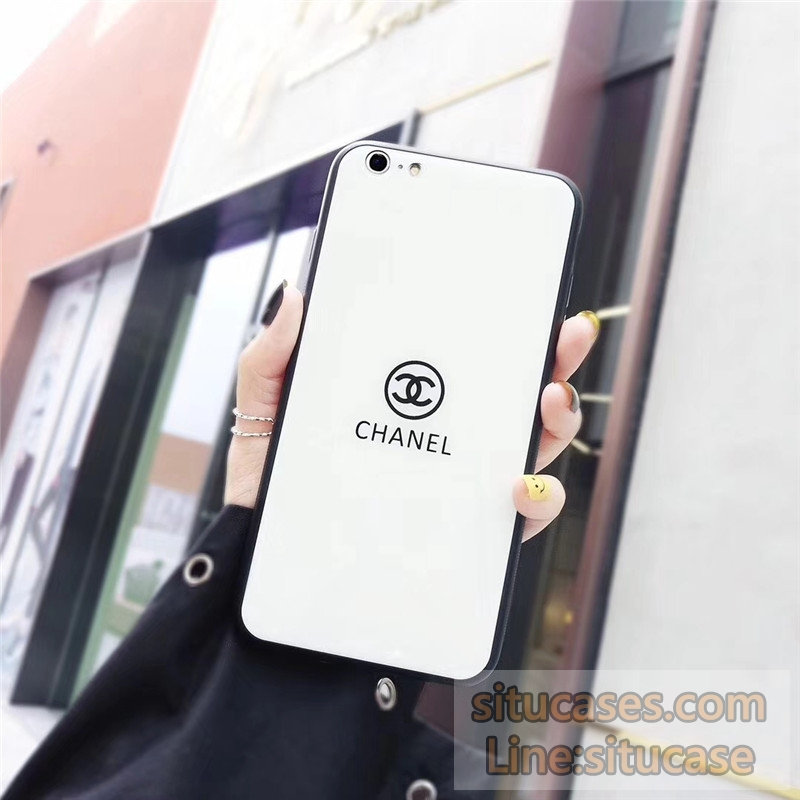 855f5637cd34 ブランドパロディ iPhoneXケース ジャケット型 シャネル風iPhone8 アイフォン7ケース iphonexs max ケース オシャレ 男子  女子 ペア 衝撃 シンプル chanel