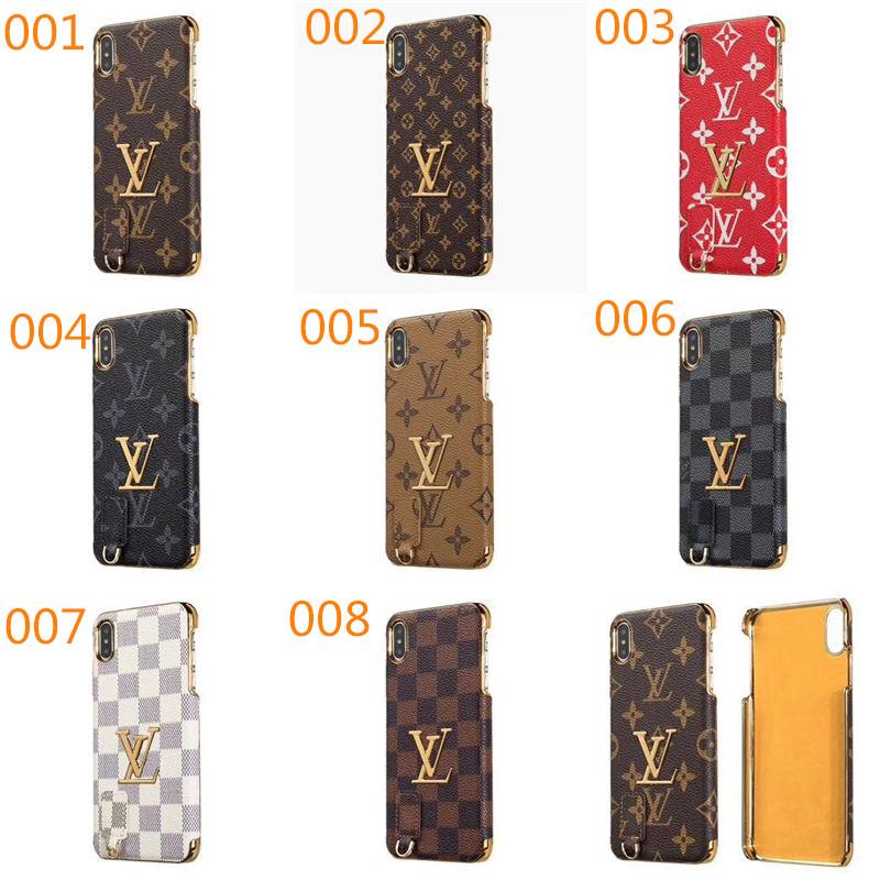 ルイヴィトン モノグラム メッキ iphone xs max/xr ケース ゴールドエッジ