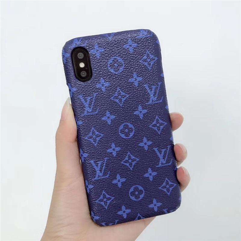Vuitton コピー iphone xsケース ブルー