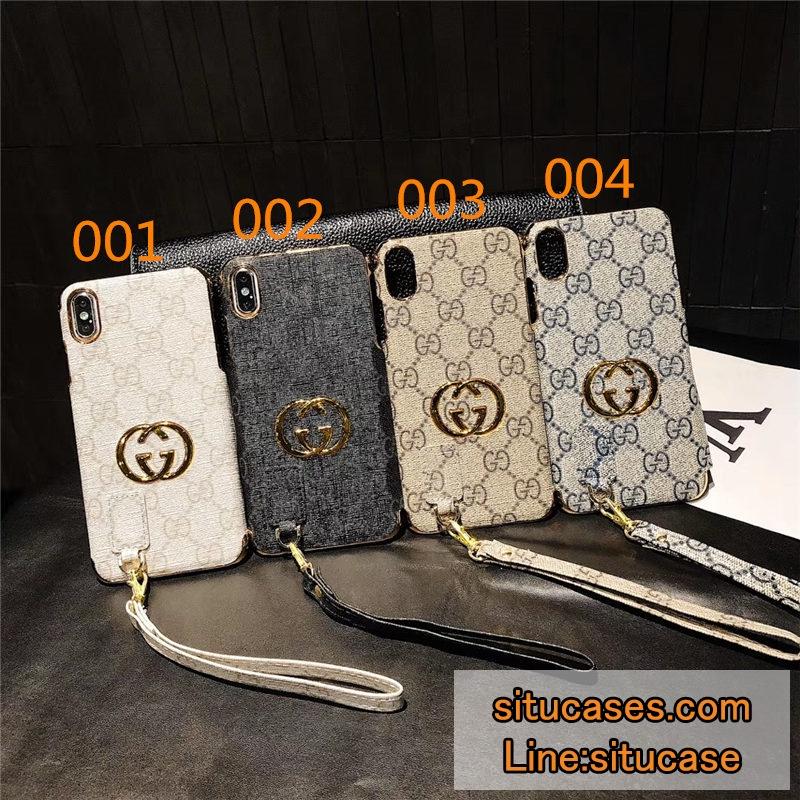 グッチパロディiPhone11/11R/11MAXケースメッキ