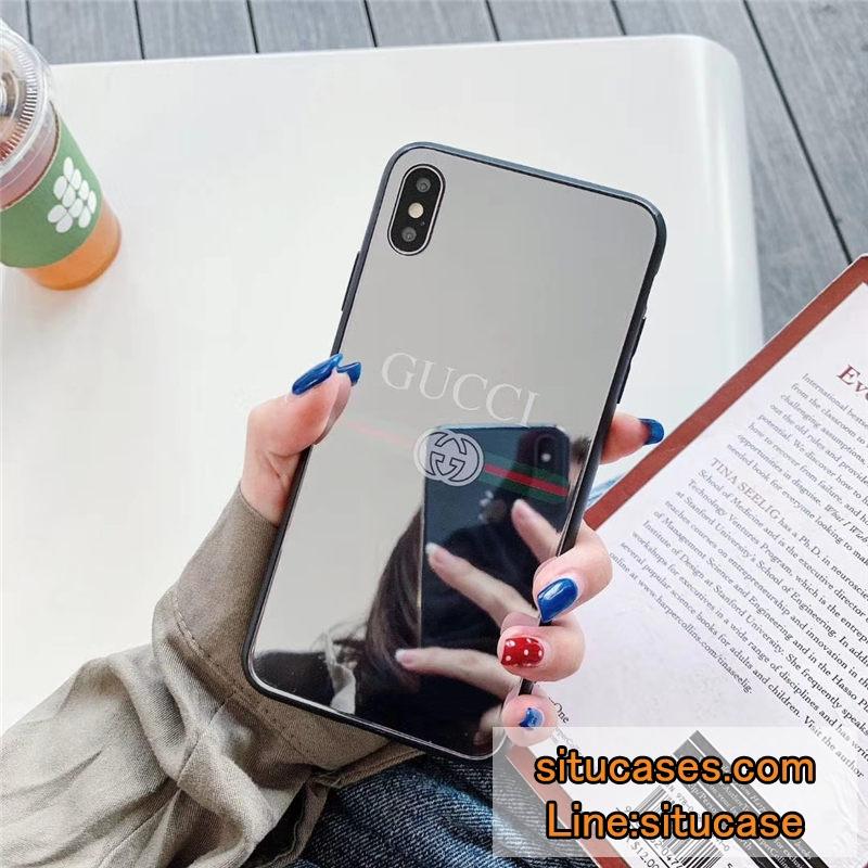 ハイブランド iphone12pro/11ケース 背面 ミラー
