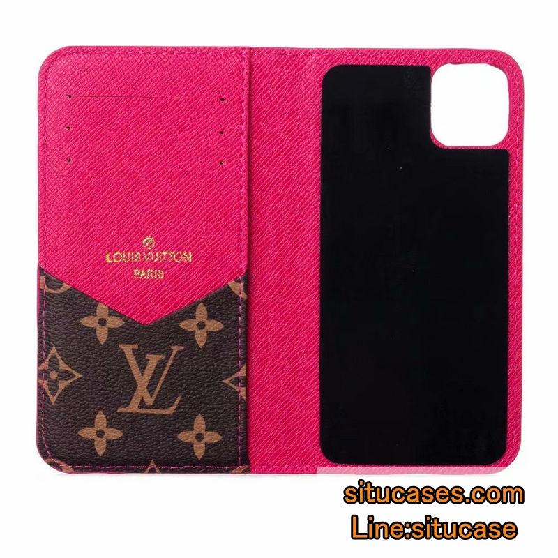 ハイブランドパロディ iPhoneXsケース ピンク
