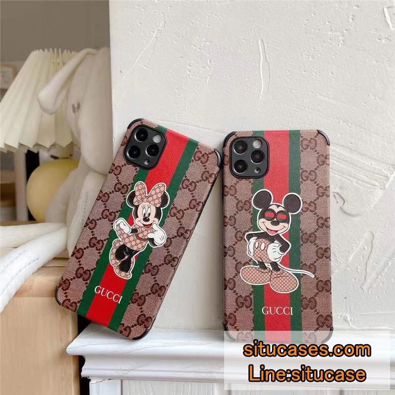 iphone12pro ケース 韓国 グッチ ミッキーマウス